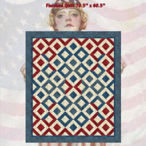 Sparklers on Liberty Square Quilt Pattern Cover
